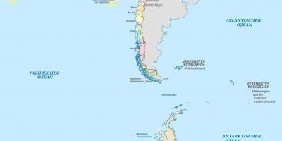 Atacama Wüste Karte.Chile Wüste Karte Atacama Wüste Chile Landkarte South America